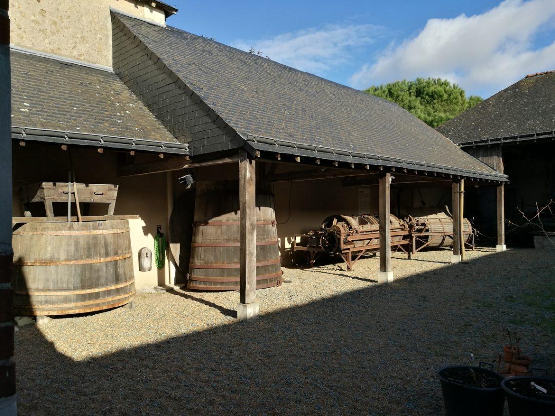 musée vin saint lambert du lattay - la cour