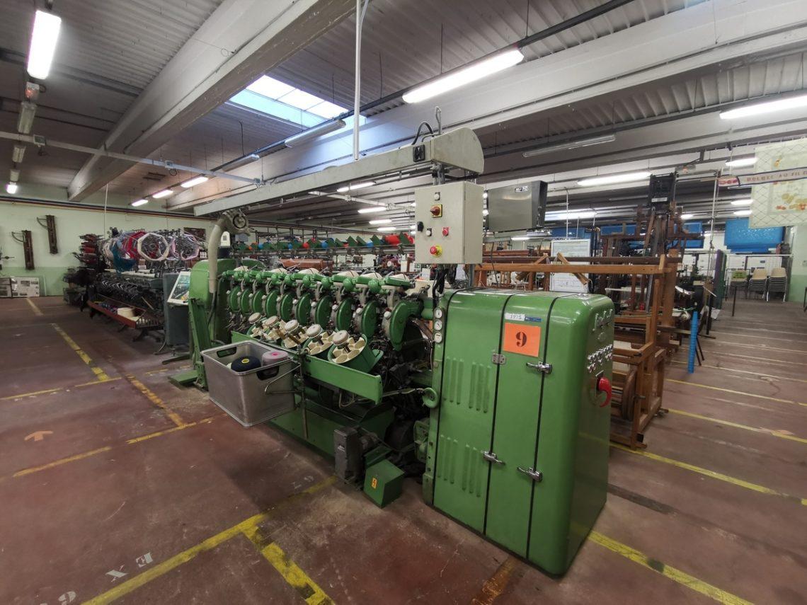 machines de l'atelier musée du textile à bolbec
