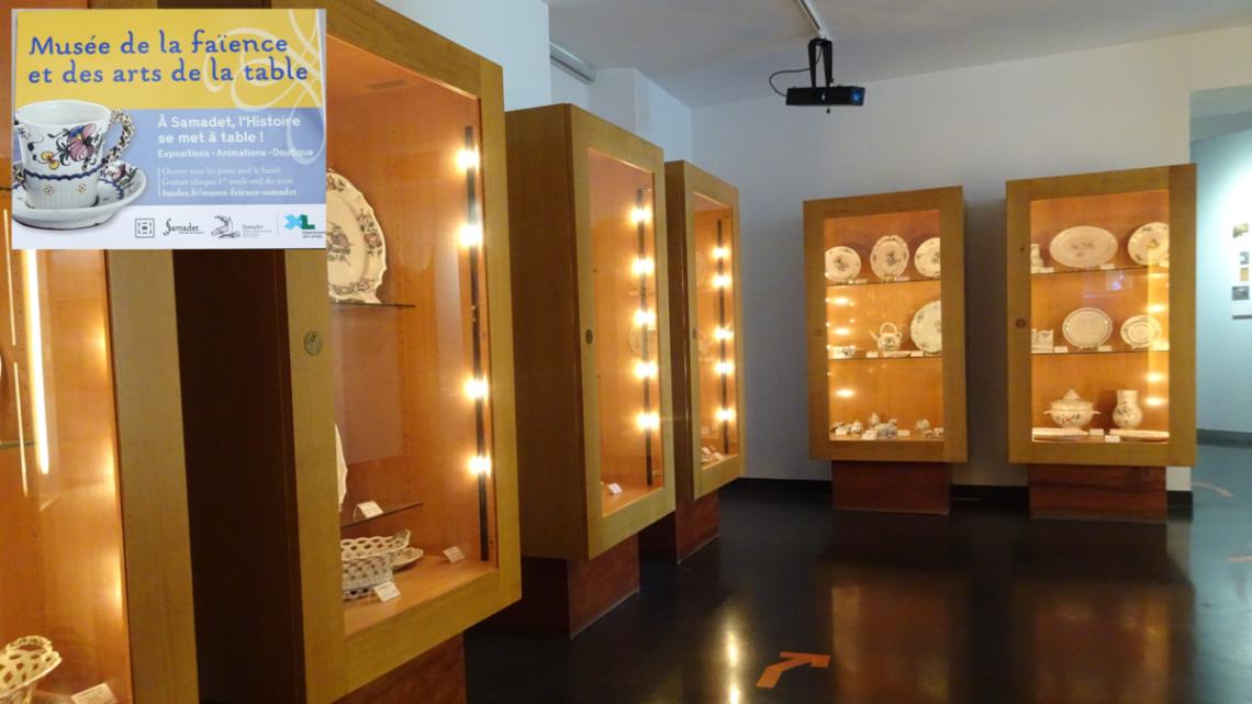 musée des arts de la table - Samadet - Agence Scarabée - ingénierie culturelle et touristique